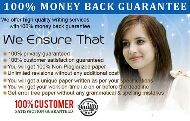 Dissertation Writing Services - Moneyback Guarantee