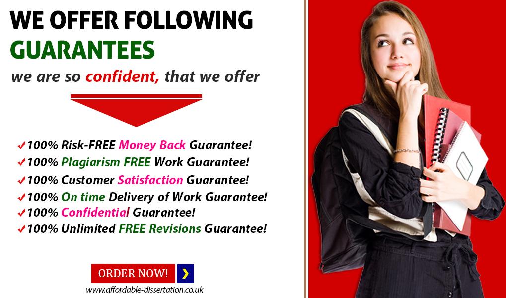 affordable dissertation - Money Back Guarantee